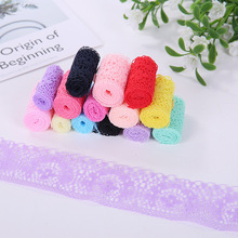 4cm Non-elastic Nylon Silk Lace Jewelry Decoration DIY Handmade Clothing Accessories Materials