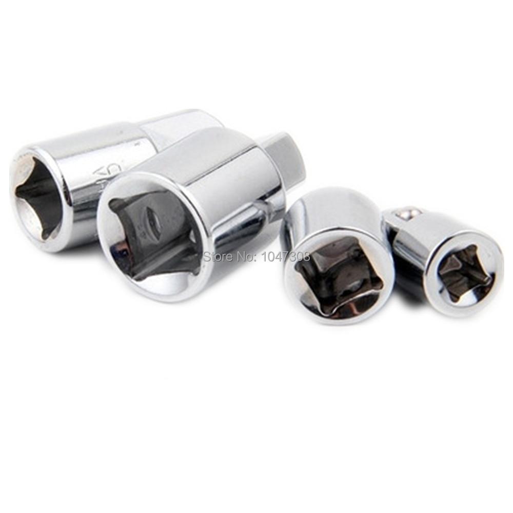 hot 4pcs 1 4 3 8 1 2 inch drive socket adapter converter reducer air impact craftsman socket. Black Bedroom Furniture Sets. Home Design Ideas