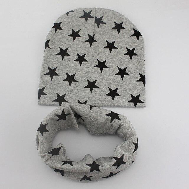1 zestaw zima jesień szydełka dziecko kapelusz dziewczyna chłopięca czapka bawełna szalik czapka gwiazda dla niemowląt dla dzieci małych dzieci dzieci nowy szalik miękkie ciepłe