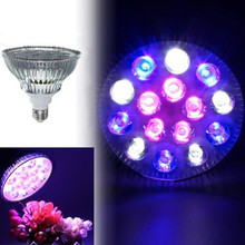 15W E27/B22 5 Red + 5 Bulb + 5 White PAR38 AC85-265V LED Full Spectrum Coral Reef Plant Grow Light Fish Tank Aquarium
