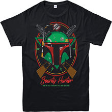 Boba Fett Bounty Hunter T-Shirt, The Last Jedi, A new hope Star Wars Free shipping  Harajuku Tops Classic Unique T Shirt