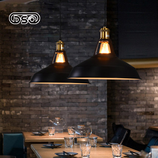 DSQ Retro Chandelier Industrial Wind LOFT American Restaurant Bar Table Lamps Creative Kits Iron Single Head Net Cafe Chandelier american retro nostalgia industrial loft style cafe restaurant bar wrought iron chandelier antique pot bedroom single head lamp