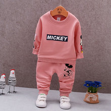 Spring Autumn Baby Boys Clothes Full Sleeve T-shirt And Pants 2pcs Cotton Suits Children Clothing Sets Toddler Brand Tracksuits стоимость
