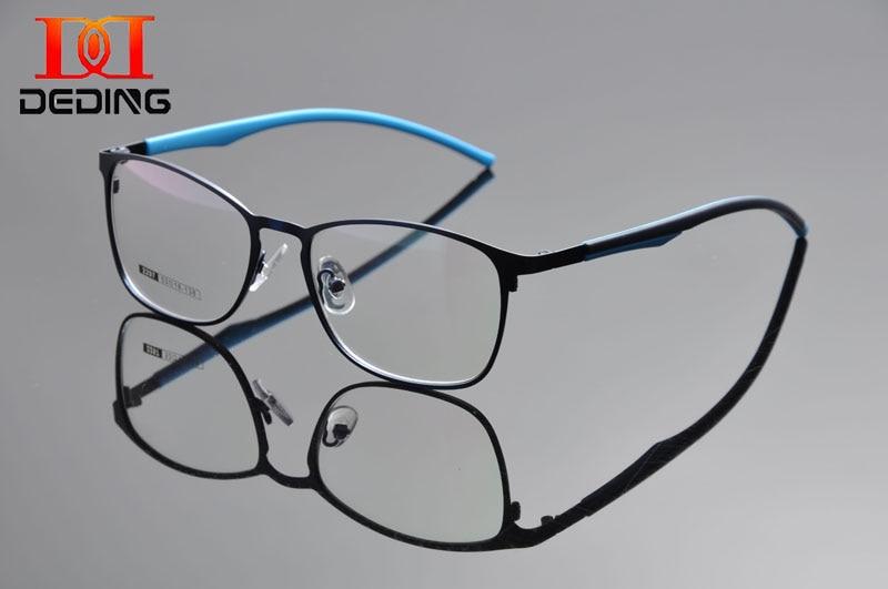 இDeding moda Marcos s hombres de metal cuadrada Marcos gafas ...