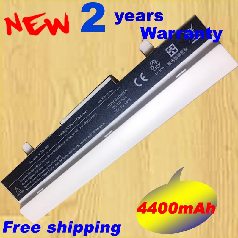 White ML32 1005 AL31 1005 AL32 1005 ML31 1005 PL32 1005  Battery For ASUS Eee PC 1001 1005 1005H 1005P 1005HE 1005HA 1101HA-in Laptop Batteries from Computer & Office