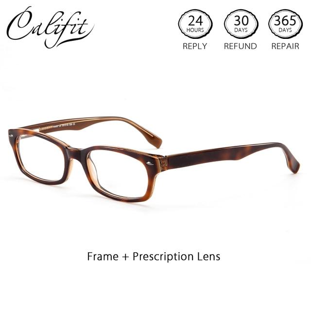 Califit Persegi Panjang Gelar Optik Kacamata Wanita Lensa Resep Kacamata  Wanita Astigmatisme Kacamata Korektif 1.74 Baru bf63ebe12e