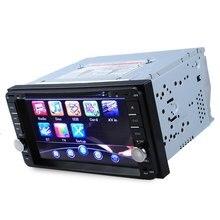 Nueva 2 Din Car DVD Player Radio Gps Navigator Universal Bluetooth mueca de dolor 6.0 Doble Din Pantalla Táctil de Coches Stereo mapa Gratuito de actualización