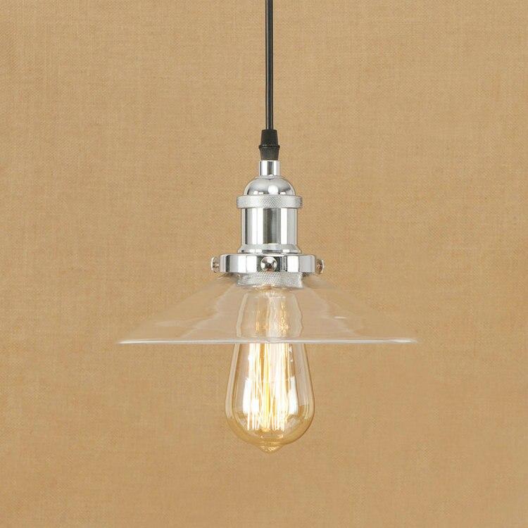 IWHD Stijl Loft Hanglampen Glas Industriële Verlichting Hanglamp Slaapkamer Keuken Licht Retro Iron Suspension Armatuur Lampen-in Hanglampen van Licht & verlichting op zhang ri tao Store
