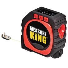 Precise Measure King 3-in-1 Digital Measureing Tape String Mode Sonic Mode Roller Mode Universal Digital Tape Measure
