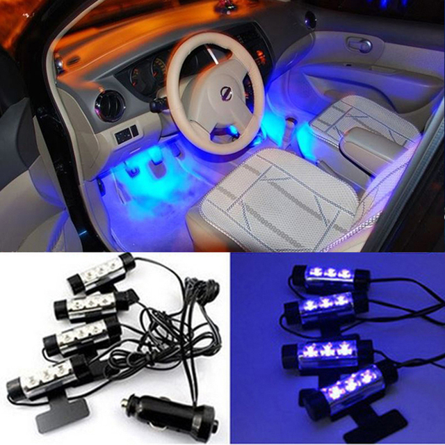 High Quality V X LED Blue Car Atmosphere Decorative Lights Car - Car sign with namesonline get cheap d led sign aliexpresscom alibaba group