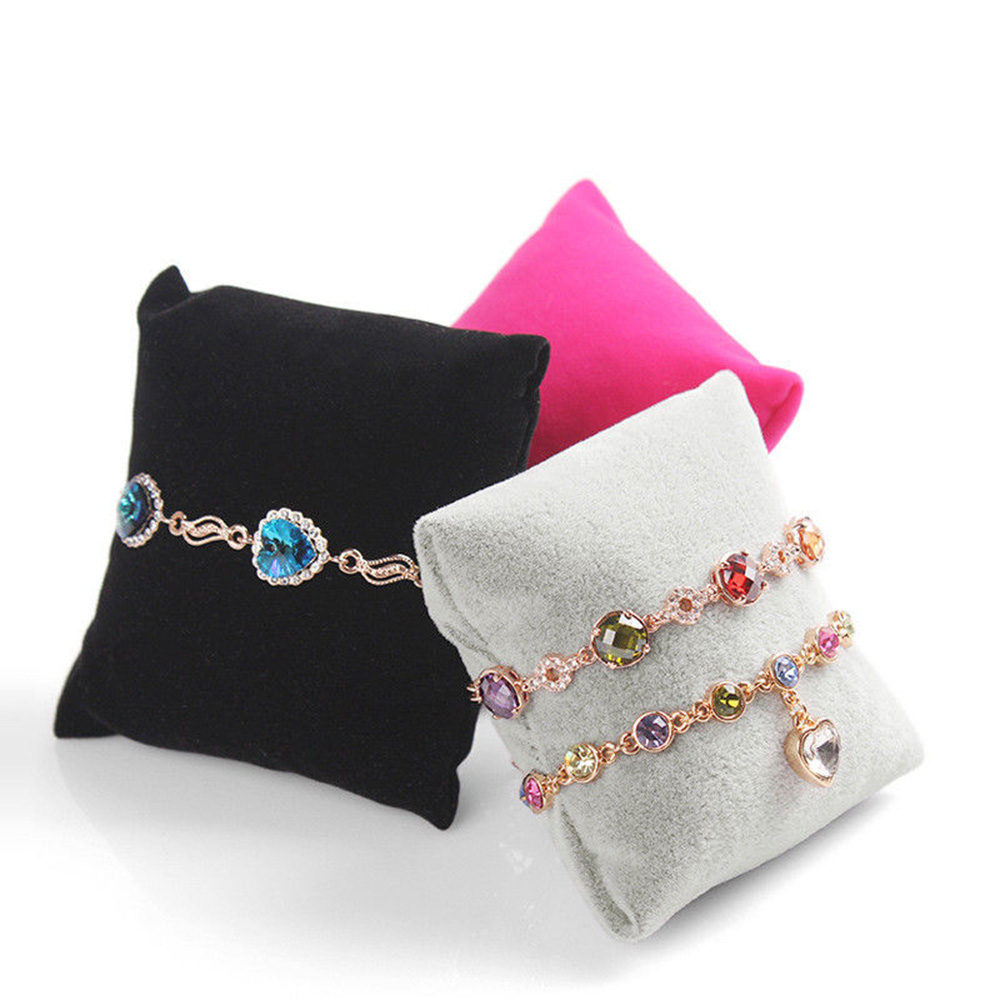 1 Stück Schmuck Armband Armreif Kissen Display Halter Uhr Halter Display Armband Kissen Kissen Organizer