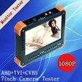 7 polegada TFT LCD COLOR MONITOR 1080 P Três em Um Função 1080 P AHD/TVI/CVBS CÂMERA TESTER Freeshipping