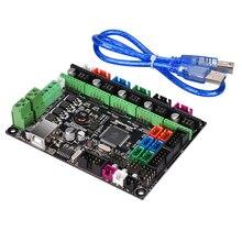 MKS GEN L V1.0 плата контроллера 3D-принтеры Совместимость пандусы 1,6 Мега 2560 R3 Поддержка A4988/DRV8825/TMC2130/TMC2208 драйвер
