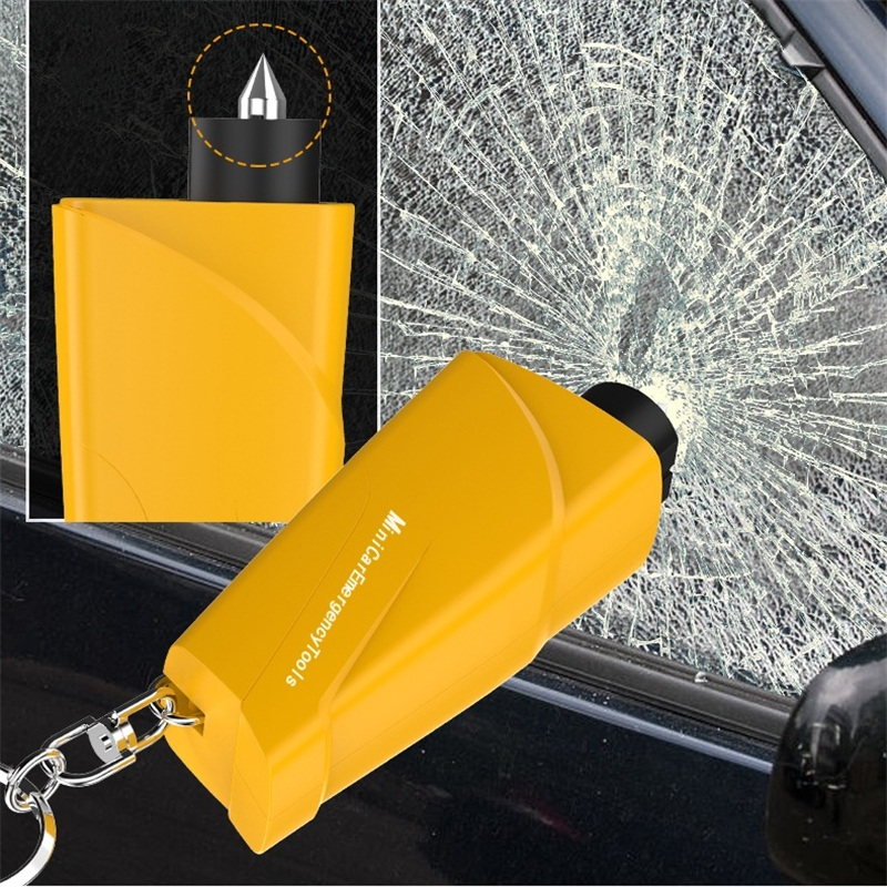 Multi-function Car Safety Hammer Car With Glass Broken Crushed Fire Hammer Escape Life-saving Artifact Car Window Breaker
