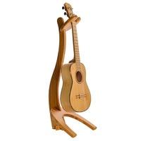 Removable Solid Wood Violin 4 Strings Hawaii Guitar Ukulele Erhu Stringed Instrument Holder Stand Portable