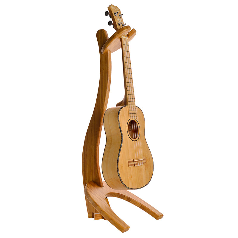 Violon amovible en bois massif 4 cordes Hawaii guitare ukulélé Erhu support d'instruments à cordes Portable
