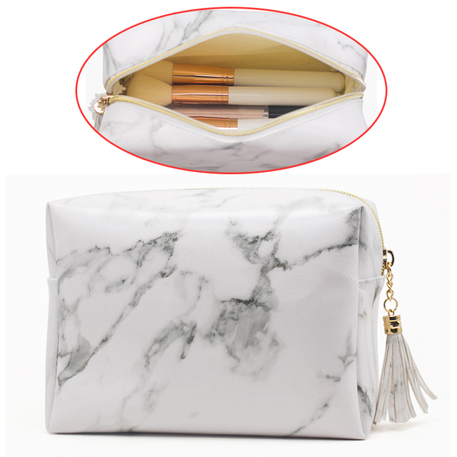 Women Travel/Makeup Bag Bags and Wallets Unisex color: White