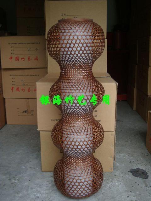 Bambus Laternen Shade Teehaus Lampe Wohnzimmer