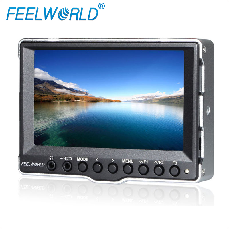 A5 5 Inch Monitor For Camera with 3G-SDI HDMI Input Feelworld On Camera Field Monitor DSLR Photography Studio LCD Monitors