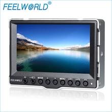 A5 5 Polegada Monitor Para Câmera com Entrada 3G-SDI HDMI Feelworld On Camera Monitor de Campo DSLR Fotografia Estúdio Monitores LCD