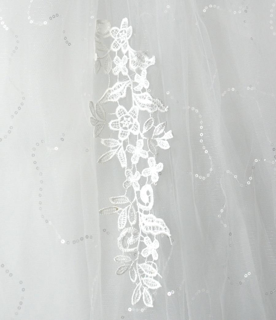 2018 Vestido De Noiva op maat gemaakte doorzichtige achterkant met - Trouwjurken - Foto 6