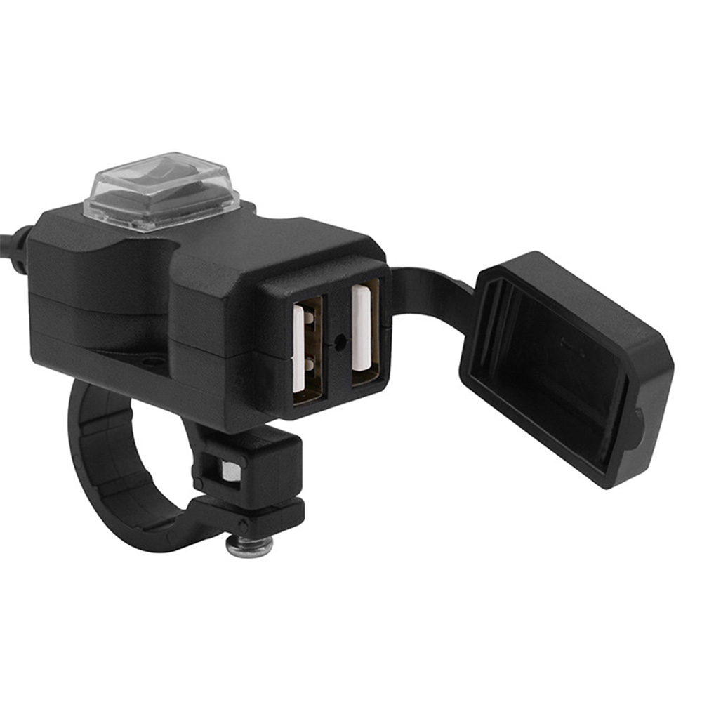 MPD Locking Accessory Lighter Socket Outlet Plug 12V w// Boot Marine Motorcycle