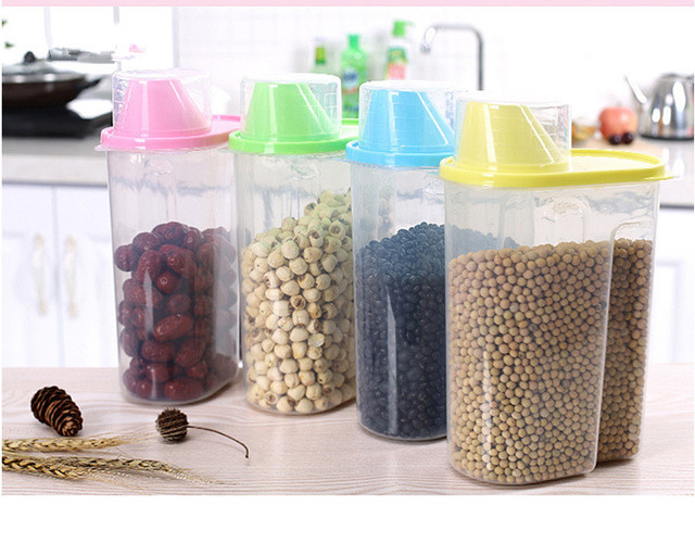 1PC Plastic Food Storage Containers Kitchen Accessories Candy