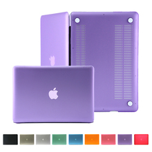 matte transparent Case for MacBook pro 13 with retina display cover for apple macbook 11 air 13 pro 15 retina 12 inch