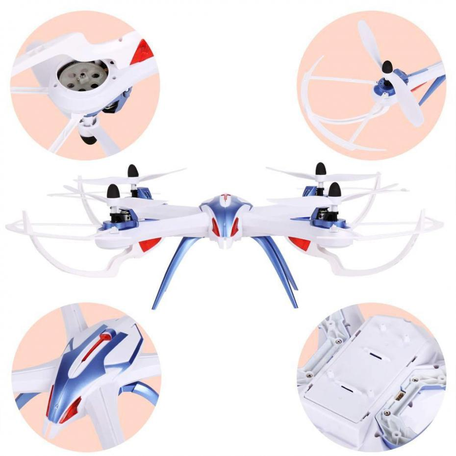 2.4G 4CH 6 Axis Gyro RC Quadcopter tarantula x6 drone with camera RTF 360 Flips 3D Stunt Headless Mode with extra battery gifts
