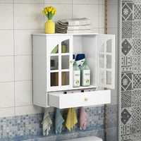 Bathroom cabinet shelf wall hanging type toilet washbasin wall hanging desktop shelf good rack LO515321