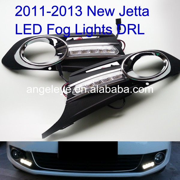 2011-2013 Year For VW New Jetta LED Daytime Running Light For Fog Light V1 Type ...