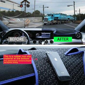 Для JAC уточнить S5 Орел 2013 ~ 2019 Противоскользящий коврик, коврик на приборную панель Зонт коврик для приборной панели автомобиля аксессуары ...