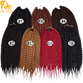 3S Box Braids Hair 12&18&22 Inch Crochet Box Braids Hair Freetress Bulk Synthetic Box Braid Crochet Hair
