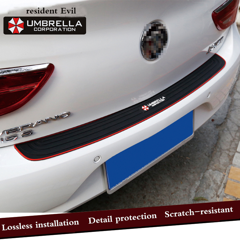 Car Trunk Door Crash Protection Strip Car Styling Scratch Protection Strip For Hyundai elantra ix35 solaris accent i30 ix25