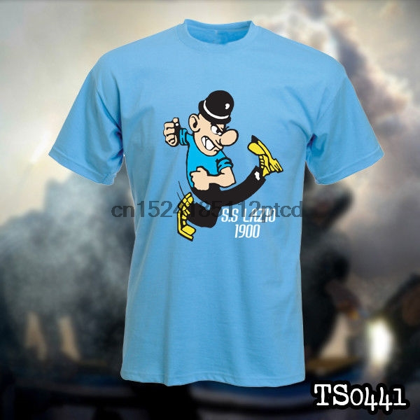 7375beeb025 LAZIO IRRIDUCIBILI ULTRAS t shirt-in T-Shirts from Men s Clothing on ...