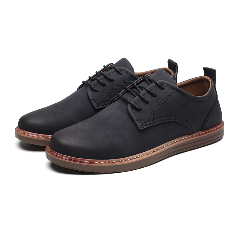 fashion leather casual shoes men comfortable leisure moccasins cheap dress male footwear work elegant boy oxford shoes for m (5)