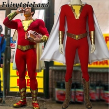 2019 Movie Shazam! Cosplay Costume Custom Made Halloween