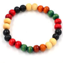 New Fashion Men Womens Chakra Healing Reiki Prayer Lava Stone Buddha Bead Bracelet Lots Style(China)