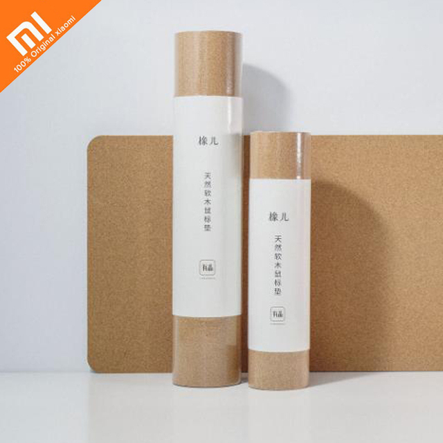 Original xiaomi mijia oak natural softwood mouse pad anti-fouling waterproof touch natural mouse pad