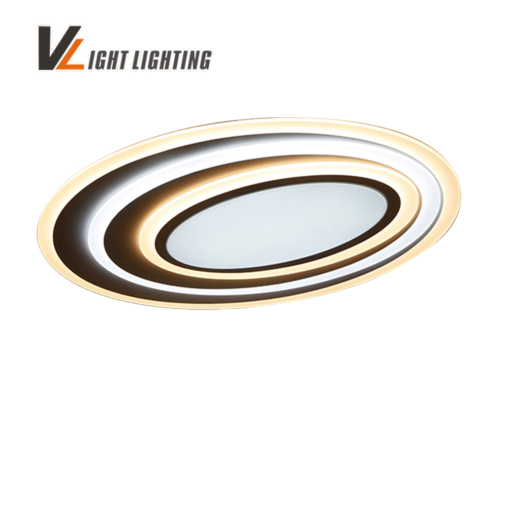 LED modern ceiling lights with dimming+remote control for bedroom living room bar coffee house New Design Ceiling Lamp Fixtures