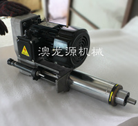 High precision gas electric drilling power head / boring / tapping / reaming / drilling spindle combination drilling machine