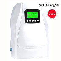 Portable Ozone Generator Sterilizer Air Purifications food Preparation 500mg ozonator ionizator ozonizer AC220v AC110v