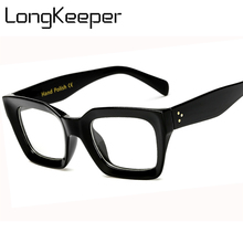 US $3.49 40% OFF|Long Keeper Men Women Square Eye PC Glasses Frames Unisex Optical Glasses PC Eyeglasses Men Computer Clear Len Eyewears #AM6885-in Men's Eyewear Frames from Apparel Accessories on Aliexpress.com | Alibaba Group