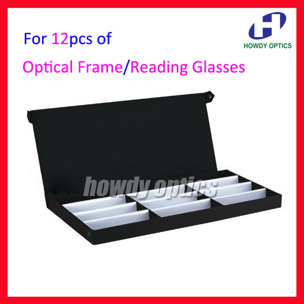 41824f0d5 Retail 12A Eyeglass Eyewear Optical Frames Reading Glasses Display Case Box  Sample Tray