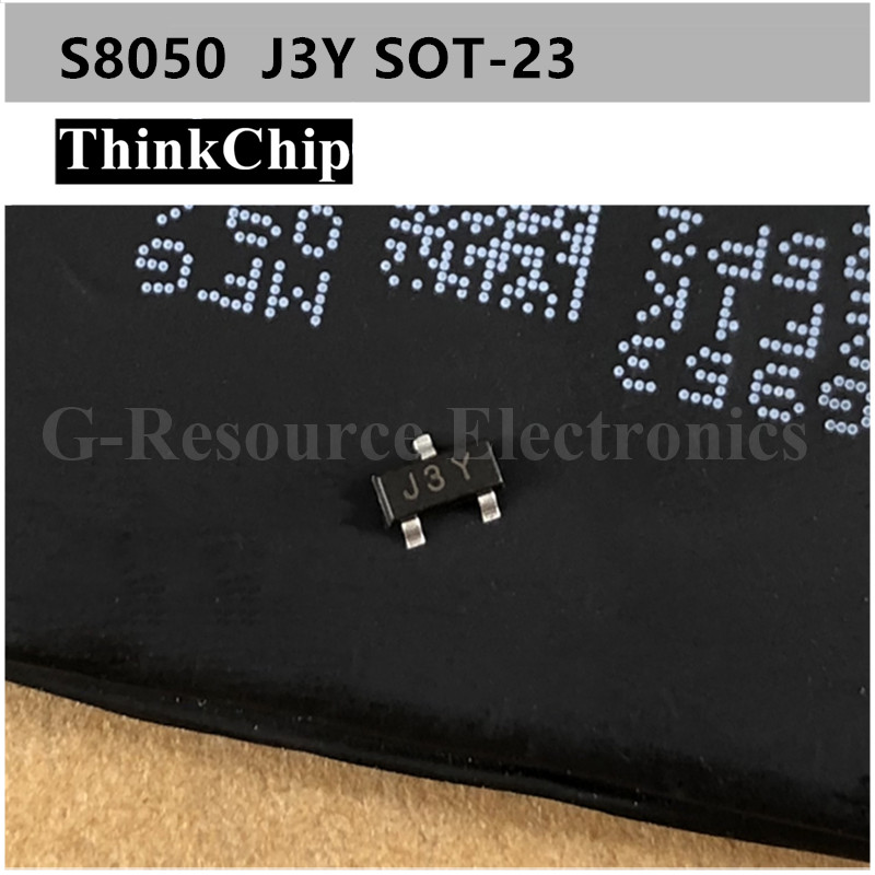 Free Shipping 100 Pcs / Lot S8050 J3Y SOT-23 NPN SMD Transistor NEW Original