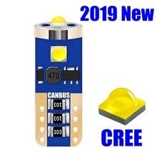 T10 W5W WY5W Высокое качество Cree чип светодиодный автомобильный парковочный источник света Canbus Нет ошибок Авто Чтение купольная лампа Клин хвост боковой лампы