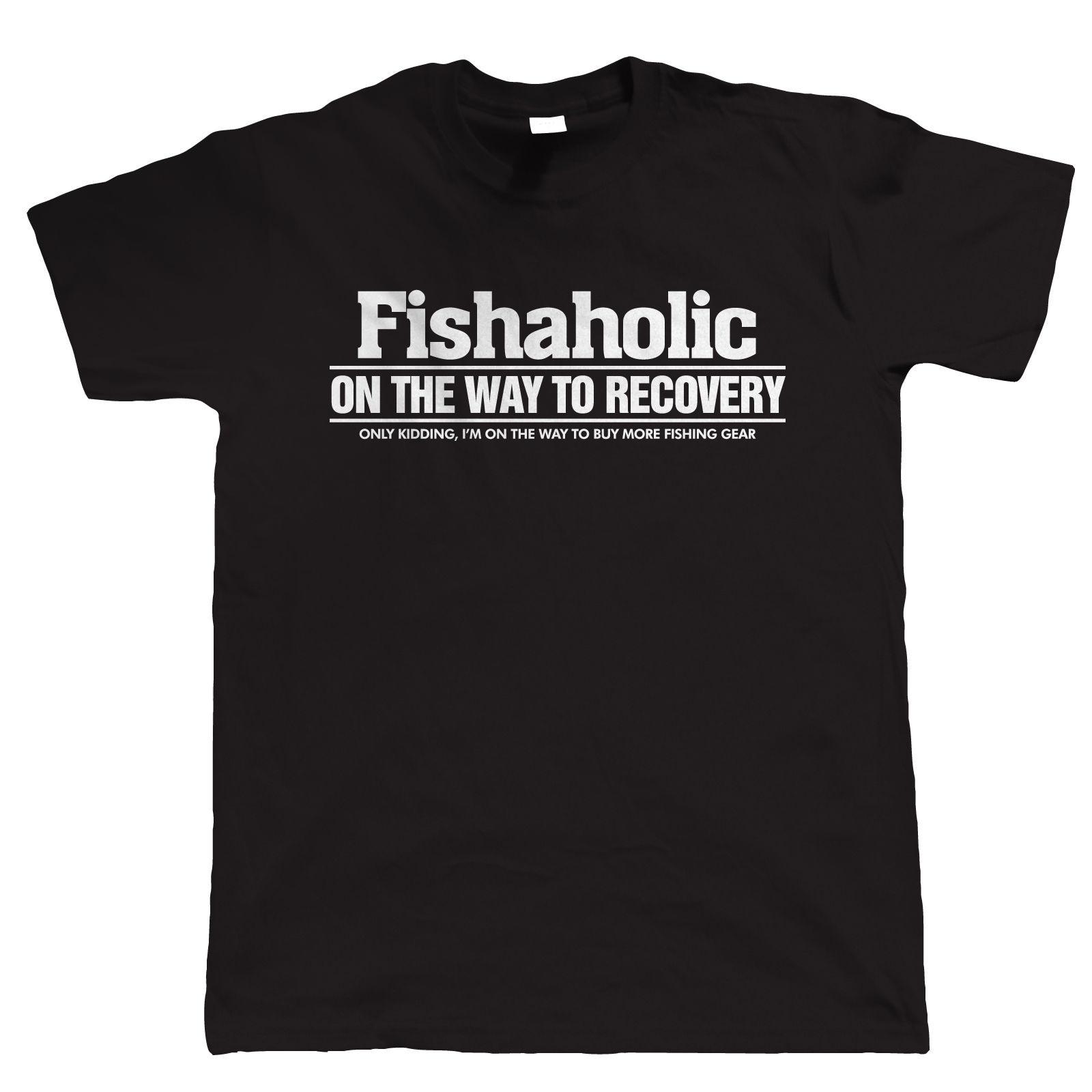 Summer Sleeves T Shirt Fashion Fisheraholic Fishinger Tdad Fathers Day Short Sleeve For Men