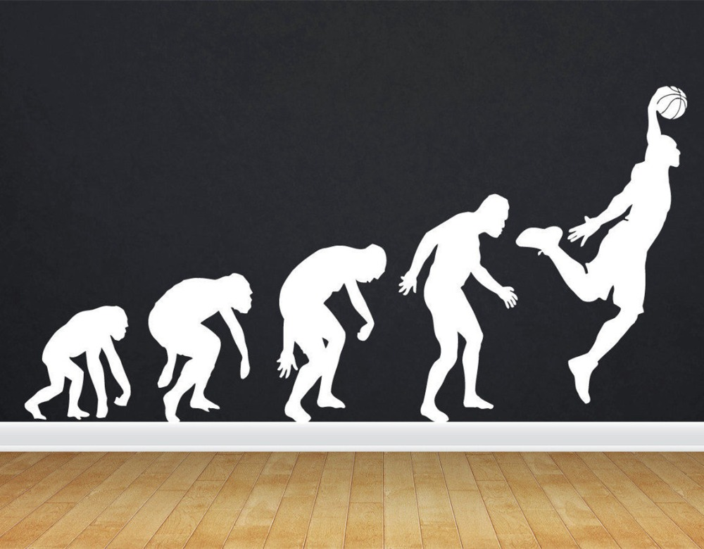 Removable Sports Stickers Home Decor Wall Stickers ...