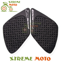 Motorcycle Gas Tank Pad Traction Side Pads Gas Fuel Knee Grips Decals Protector For GSXR1000 GSXR 1000 2007 2008 Free Shipping