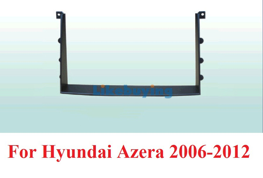 177*99.6mm 2 Din Car Frame Dash Kit / Car Fascias for Hyundai Azera 2006 2007 2008 2009 2010 2011 2012 Free Shipping aftermarket free shipping motorcycle parts eliminator tidy tail for 2006 2007 2008 fz6 fazer 2007 2008b lack